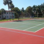 Pickleball Court from a Tennis Court